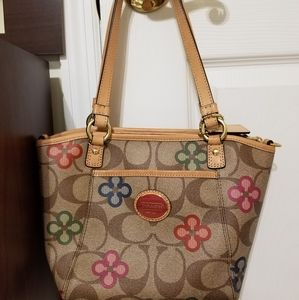 Coach Peyton Clover Small Pocket Tote